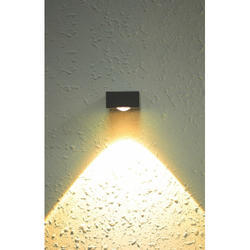 Down Warm White OP-WL7 Wall Light, 12 W, For Home