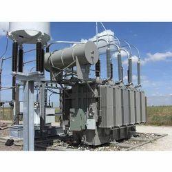 Three Phase Electrical Power Transformer