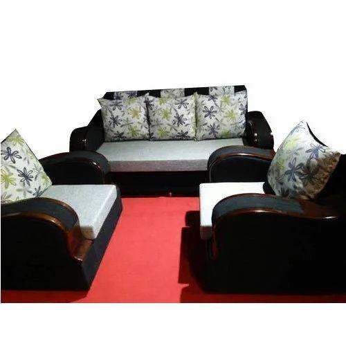 Wooden Handle Sofa Set At Rs 16900 Set Mundhwa Pune Id