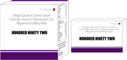 Softgel Capsule of Calcitriol Calcium Carbonate