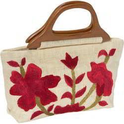 Embroidery Jute Bag