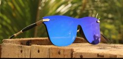 Multibrand Male Wayfarer Sports Sunglasses, Size: Universal