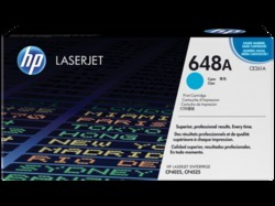 HP CE261A 648A Cyan Toner Cartridge
