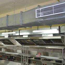 Electric Kitchen Ducting, Size: 8-60