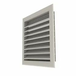 Extruded Aluminum Drainable Louver