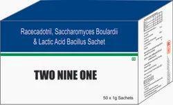 Racecadotril, Saccharomyces Boulardi & Lactic Acid Bacillus Sachet