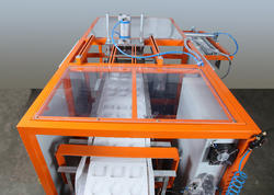 Auto Vacuum Forming Machine with Inline Punching Cutting