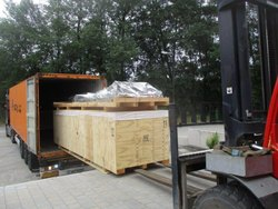 Export container stuffing planning service