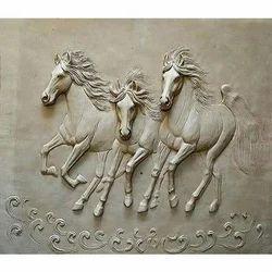 Running Horse Mural
