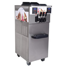 Semi Automatic Soft Serve Ice Cream Machine