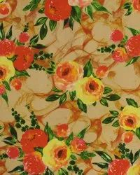 Cotton Printed Georgette Fabric