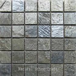 Slate Mosaic Wall Tiles, Size: 12 x 12 inch