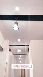 pvc false ceiling with installations