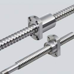 Rolled Ball Screw With Double Nut