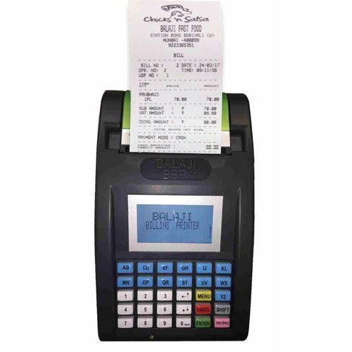 WEP Hotel Billing Machine, Rs 7900 /piece SR Value | ID: 16904920091