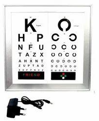 ASF LED Vision Chart 3 Meter 2 Lang.