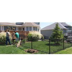 Mild Steel MS Grill Fencing, For Garden, Home
