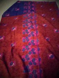 Blue Flower Vintage Kantha Quilt