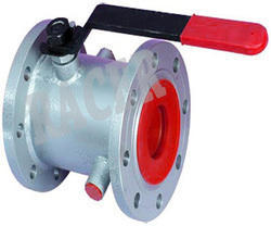 Flanged End MS Jacketed Ball Valves