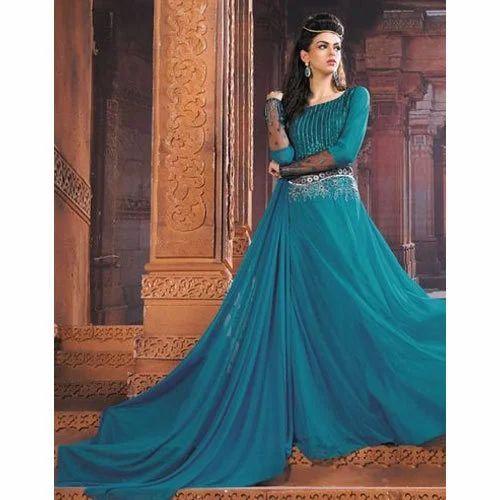 Party Wear Medium Designer Long Gown b98d18efd46c