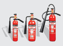 Fire Extinguisher Carbon Dioxide Wheel Type