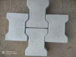 I Shape Interlocking Paver Block