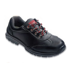 Edge Black Safety Shoes