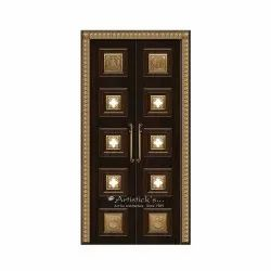Pooja Room Door Designs With Glass
