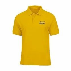 Casual Polo Neck Promotional Golf T-Shirts With Logo