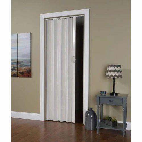 PVC Bifold Door  sc 1 st  IndiaMART & Pvc Bifold Door Unplasticized Polyvinyl Chloride Bi Fold Door ...