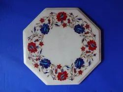 Pietra Dura Marble Table Inlay Top