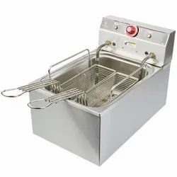 Double Basket SS Deep Fryer
