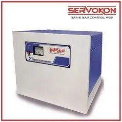 Single Phase Servokon Constant Voltage Transformer, 220 Volts, 180-260 Volts