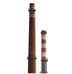 Industrial Iron Chimney