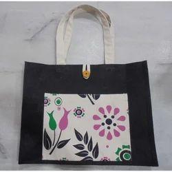 Dyed Jute Cotton Bag