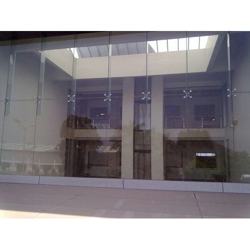 Natural Interior Glass Panel Work