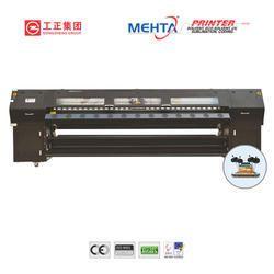 Blue Digital printer Solvent Printer Machine Polaris GZT 3204AU
