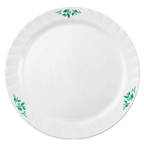 White Plastic Printed Round Dinner Plate Size 13 Inch  sc 1 st  IndiaMART & White Plastic Printed Round Dinner Plate Size: 13 Inch Rs 90 ...
