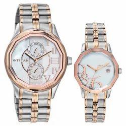 Titan Pair / Couple Watch