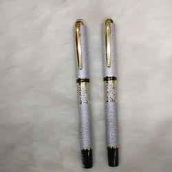 Metallic Silver Ballpoint Pen
