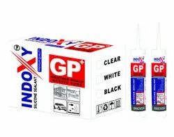 Indoxy Premium Quality Silicone Sealant(Clear/ White/ Black)