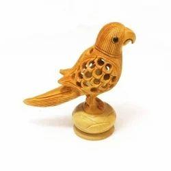 Wooden Decorative Parrot