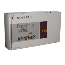 Afinitor 10 Mg Everolimus Tablets