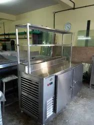Salad chiller  with undercounter Chiller