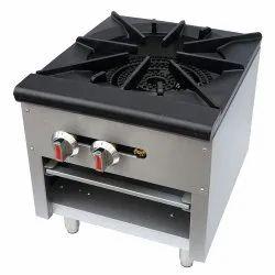 Stock Pot Single Burner, Size: 24x24x20 Inch