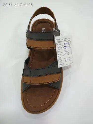 c88a5fc11440c Pu Casual Mens Designer Leather Sandal, Rs 450 /pair, Varbi Footware ...