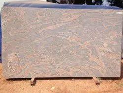 Pink Slab Juparana Granite, Thickness: 25 mm or above