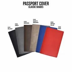 Classic Leather Passport Cover, Imported