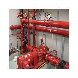 Red MS Fire Hydrant System