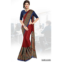 Institute Silk Uniform Saree